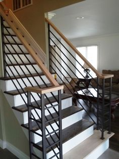 Stair Railing Ideas For Inside Your Home
