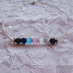 invisiblegarden / Keď obloha mení farby - náhrdelník #necklace #nahrdelnik