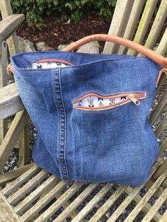 Die Chobe Bag von Elle Plus aus einer alten Jeans!