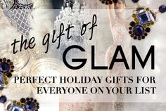 THE GIFT OF GLAM Shop Gift Guide SALE ENDS Hollywood your holidays with our fabulous gifts for the glam goddess in your life! These pieces are the perfect compliments to smoky cat eye makeup, bold red lips and a polished up-do.The Gift of Glam Touch Of Gray, Cat Eye Makeup, Ladies Boutique, Red Lips, Happy Shopping, Holiday Gifts, Helpful Hints, Fashion News, Compliments