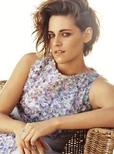 Kristen Stewart para Harpers Bazaar - Chanel