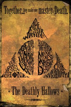 Harry Potter - Deathly Hallows Póster, Lámina | Compra en EuroPosters.es