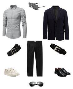 """Smart / Casual for Paul Simon"" by e-shallar on Polyvore featuring Joseph, Givenchy, Fendi, Stacy Adams, Timberland, Under Armour, men's fashion и menswear"