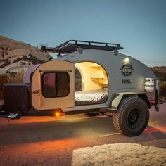 Off road camper
