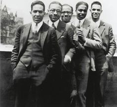 The men of the  Harlem Renaissance