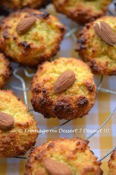 Fromage ou Dessert ? ... DESSERT !!!: Biscuits aux amandes et à la bergamote