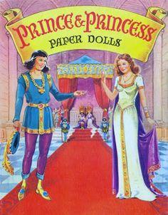 Prince & Princess Paper Dolls, back cover