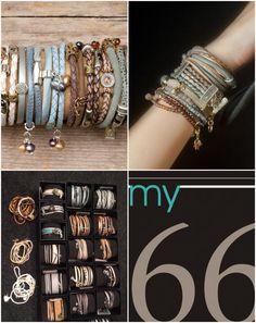 Wikkelarmbanden My66, 100% fairtrade. Een gedeelte van de opbrengst gaat naar Trustfund for Woman. Een organisatie die vrouwen een kans geven zich verder te ontwikkelen. Charmed, Bracelets, Jewelry, Fashion, Bangle Bracelets, Jewellery Making, Moda, Jewerly, Jewelery
