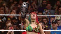 Japanese Female Wrestling: Asuka aka Kana in WWE NXT