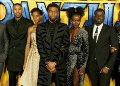"""Long live the King! ""Black Panther"" now holds the record for the biggest opening day of 2018 at the…"" Black Panther Marvel, Film Black Panther, The Avengers, My Black Is Beautiful, Beautiful People, Afro, Letitia Wright, Bae, African American Women"