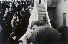 Gilles Peress - Demonstration in a Stadium, Tabriz