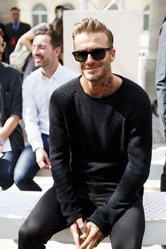 The Evolution of David Beckham's Hotness