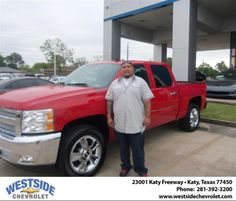 #HappyBirthday to Gabriel Valles from Arturo Urquiola  at Westside Chevrolet!