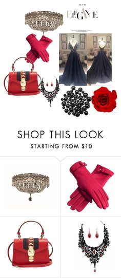 """""""Untitled #126"""" by sabii-dlii ❤ liked on Polyvore featuring Elegant Lighting and Gucci"""