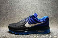 Nike Air Max 2017 Men Gradient Blue Shoes