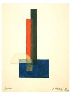 Laszlo Moholy-Nagy Constructivist Composition, 1923