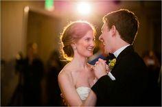 Bride and Groom First Dance | Navy Rustic Elegance Proximity Hotel Wedding | Julie Livingston Photography | Leigh Pearce Weddings, Greensboro North Carolina Wedding Planner, Stylist, Coordinator