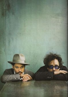 Johnny Depp, Tim Burton