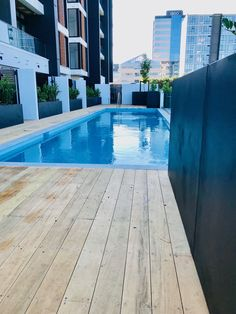 Black Powder Coated Steel Planters - The Sargeson Apartments, Takapuna Corten Steel Planters, Metal Planters, Powder Coating, Apartments, This Is Us, Luxury, Architecture, Building, Outdoor Decor