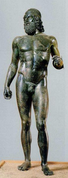 L'un des quatre bronzes de Riace.