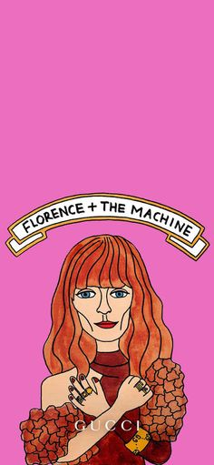 Gucci inserts picture luxury Florence + The Machine Wallpapers for iPhone X, iPhone XS and iPhone XS Max - Free Wallpaper | Download Free Wallpapers