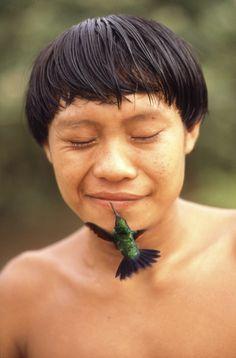 La naturalidad de la naturaleza... Yanomamis Indians, Roraima, Brazil.