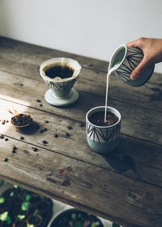 Drinking from handmade pottery brings the relationship between the clay, the maker, and the form taking shape to life, creating a ritual like experience.