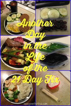 21 Day Fix Meal Examples