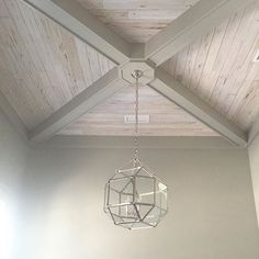 White washed pecky cypress ceiling with beams - This is just one of the many features of our Modern Farmhouse custom home - White Wash Ceiling, Ceiling Trim, Plank Ceiling, Ceiling Detail, Home Ceiling, Wood Ceilings, Ceiling Decor, Ceiling Beams, Ceiling Lights