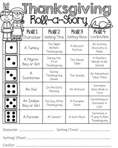 Adapt this...to help students write a paragraph or have a conversation with details/vocabulary from the paper, depending on what number they roll