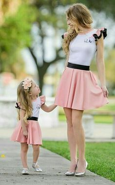 s Clothing Children' Mommy And Me Dresses, Mommy And Me Outfits, Mom Dress, Family Outfits, Toddler Outfits, Baby Dress, Kids Outfits, Mother Daughter Dresses Matching, Mother Daughter Fashion