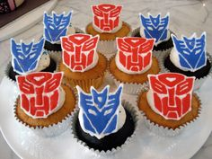 Transformer Cupcake Toppers!!