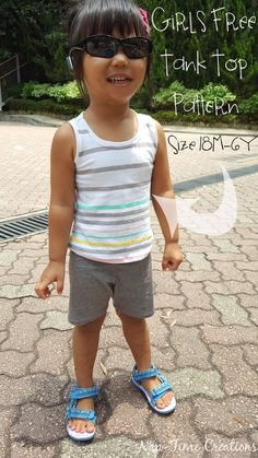 Girls Tank Free pattern 18m-6y-easy-sewing-tutorial-from-Nap-Time-Creations