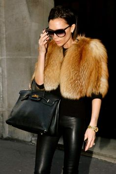 Hermes and fur (only if its faux - fur, not the Hermes)