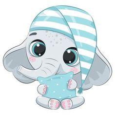 Cute Animal Clipart, Cute Cartoon Animals, Cute Clipart, Baby Animals, Cute Animals, Animal Drawings, Cute Drawings, Cute Dogs, Cute Babies