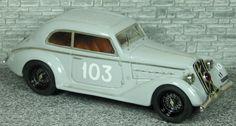 Alfa Romeo 6c 1750 Pescara Berlinetta Touring  - Mille Miglia 1937 #103 - Alfa Model 43