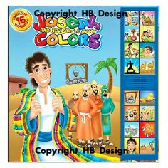 joseph and his coat of many colors deluxe sound storybook kids will be delighted - Coat Of Many Colors Book
