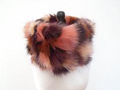 luxury faux fur snood cowl neck warmer scarf by thepurplegenie, £28.00