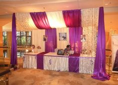 pipe and drape, really fantastic for wedding