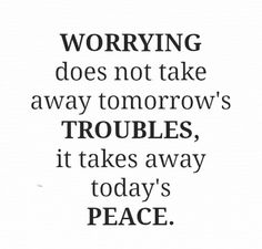 Not worrying anymore ;-)