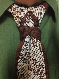Combining some ideas from more than one type of tie knot can produce some interesting results.