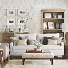 If you want an all-neutral room, the key is a variety of hues, textures, and patterns.