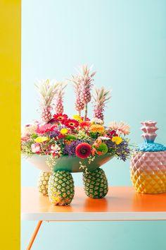 Gerbera, Horticulture, Interior Inspiration, Rebel, Greenery, Pineapple, Planter Pots, Fruit, Flowers