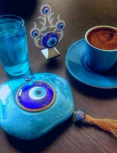BLUE- Turkish coffee More