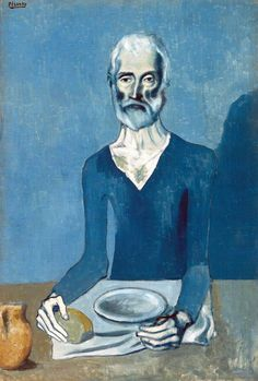 """The Ascetic""  Pablo Picasso, 1908"