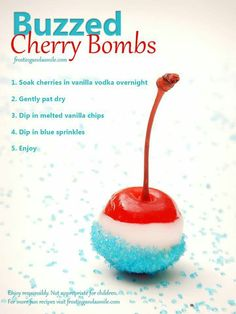 These sound AWESOME! Must make soon! Would be great for 4th of July party!