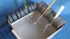 DIY Paint Brush Holder Keeps Brushes Properly Wet or Dry