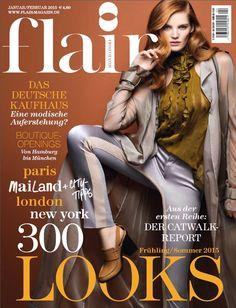 Alexina Graham — Flair Magazine JAN/FEB 2015