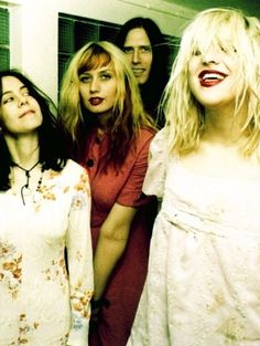 Hole and Courtney Love