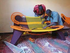 Madame Dakar, M'Afrique Collection by Moroso, designed Ayse Birsel and Bibi Seck, 2009